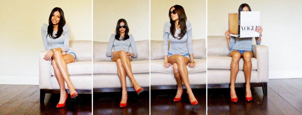 From what to wear red shoes_4