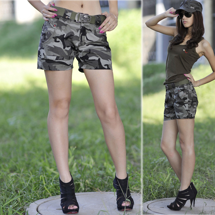 Military womens shorts