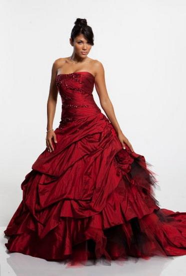Свадебное платье какого цвета