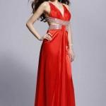 свадебные платья красного цвета_6