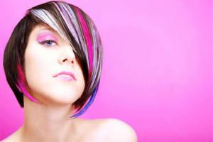 как покрасить волосы в два цвета