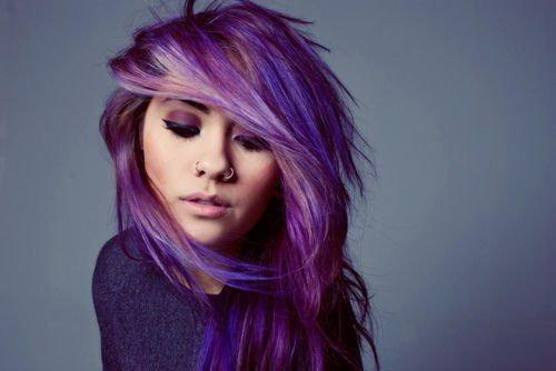 Как покрасить в 2 цвета волосы