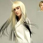 как покрасить волосы в два цвета 5