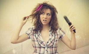 жирные волосы и выпадение