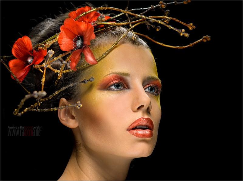 декоративная косметика, история появления
