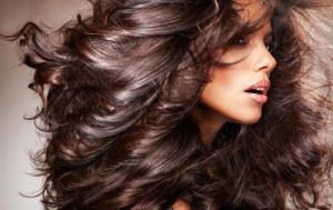 как сделать волосы блестящими