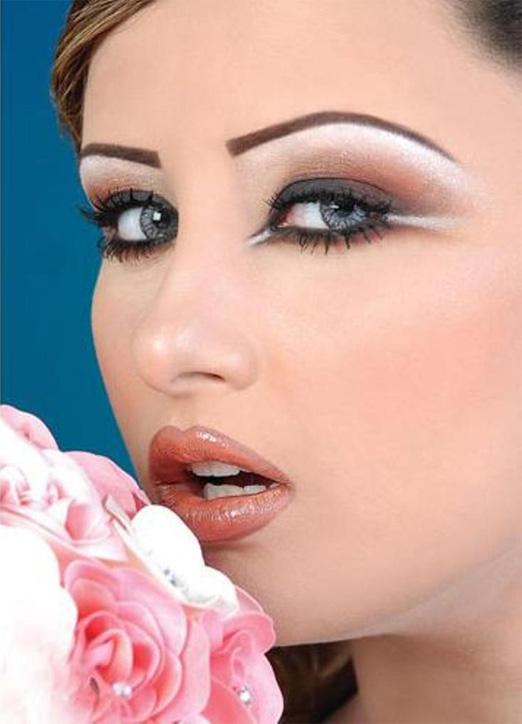 восточный макияж фото