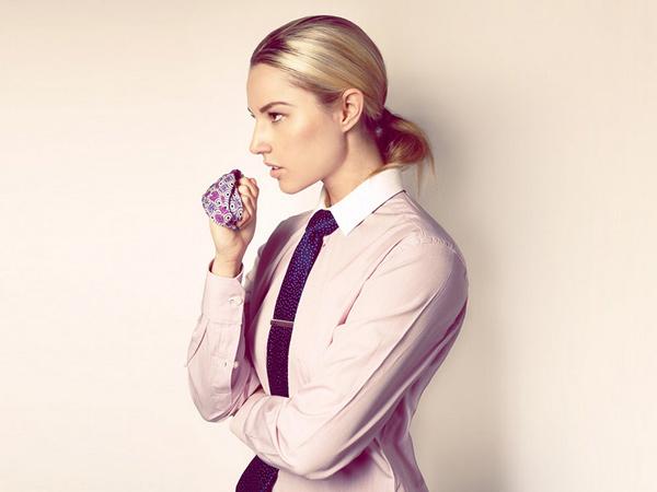 женский галстук 2015-2016