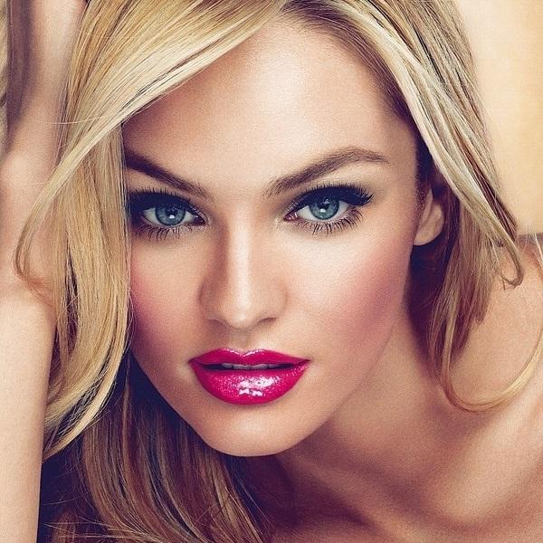 вечерний макияж для блондинок фото 2