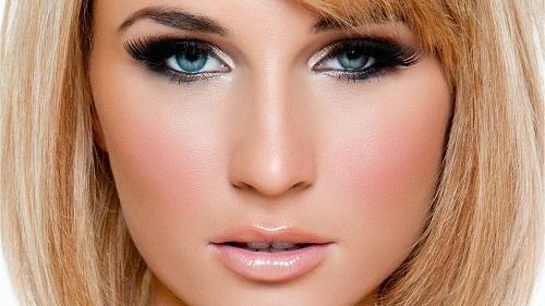 вечерний макияж для блондинок фото 3