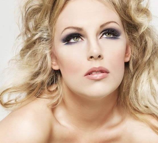 вечерний макияж для блондинок фото 4