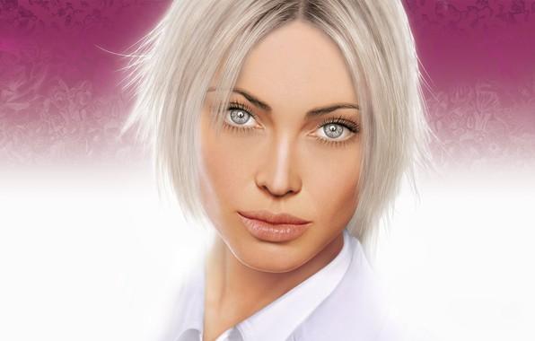 макияж для блондинок с серыми глазами фото 4