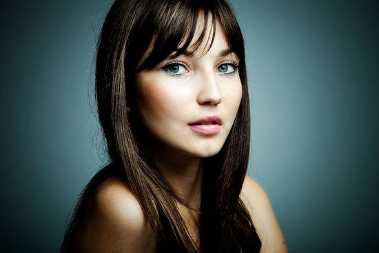 макияж для брюнеток с зелеными глазами 2