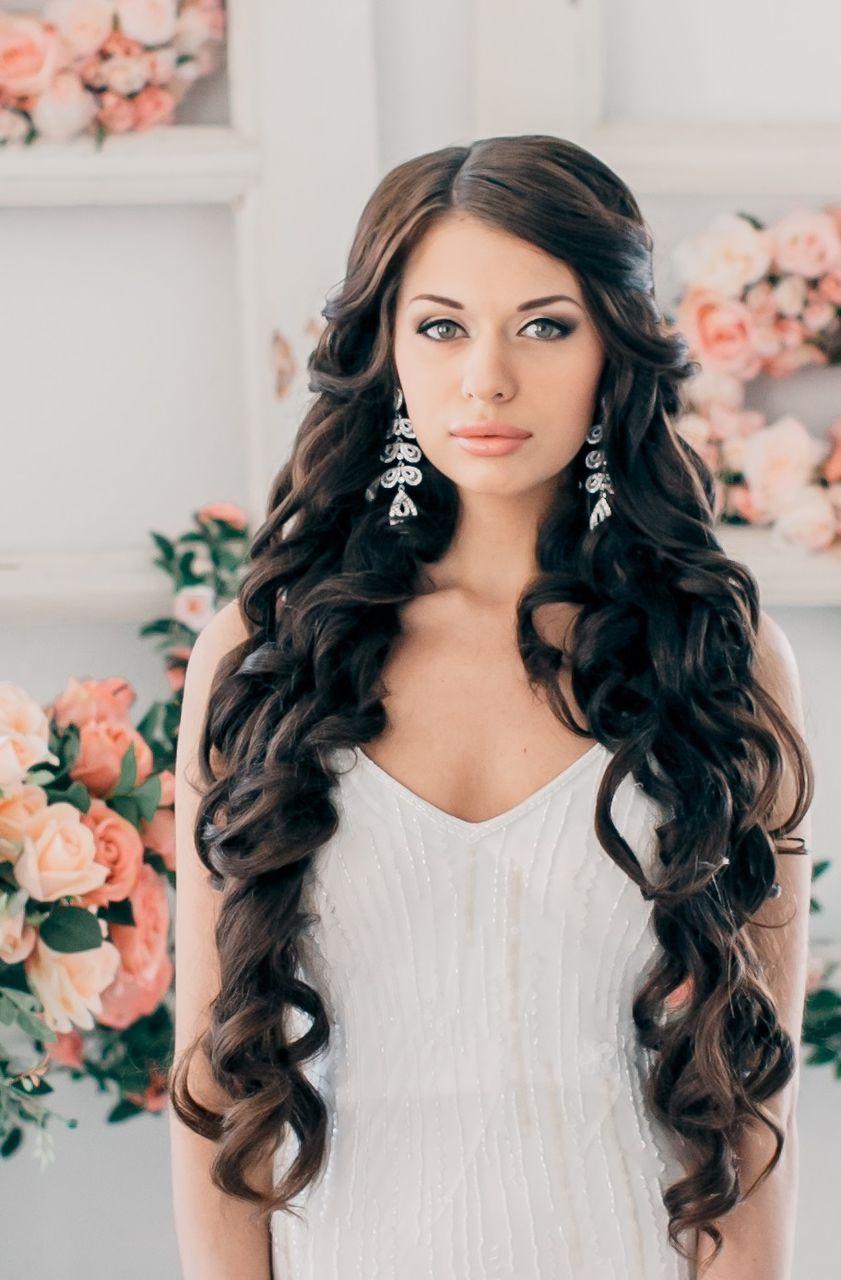 Красивые причёски локоны для длинных волос