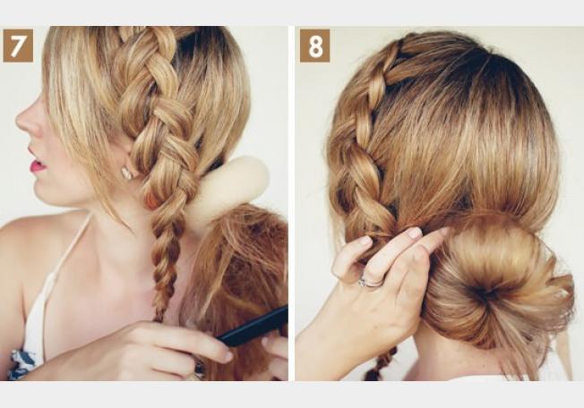 Красивые прически для длинных волос фото своими руками