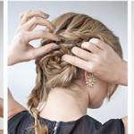 свадебная прическа с косой 4