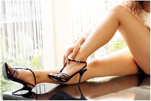 туфли на высоком каблуке фото 6
