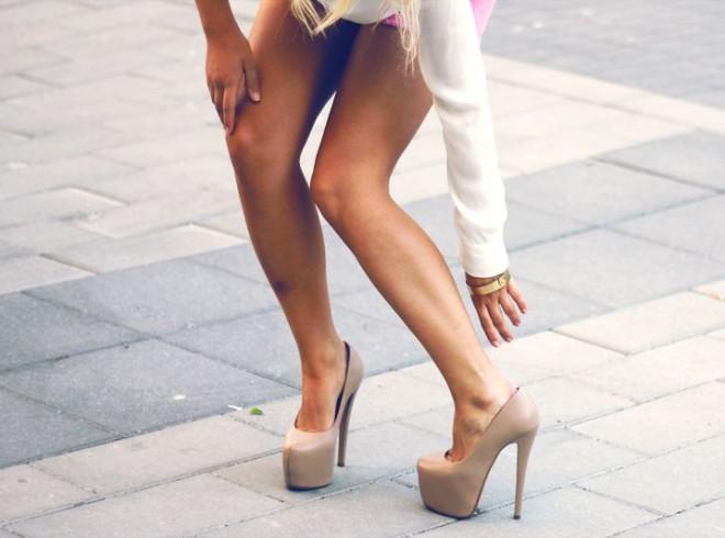туфли на высоком каблуке фото 3