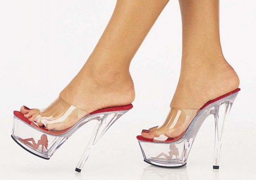 туфли на высоком каблуке фото 11