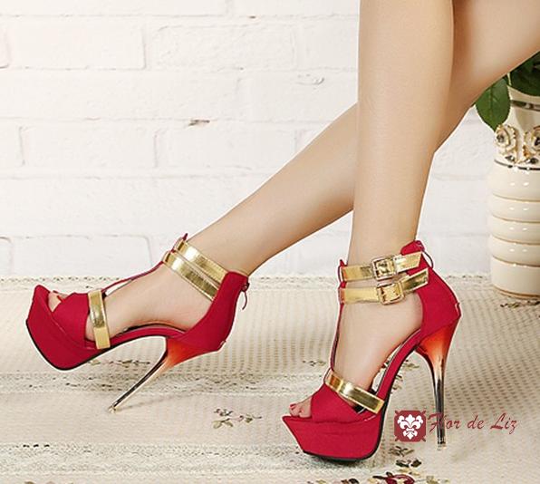 туфли на высоком каблуке фото 12