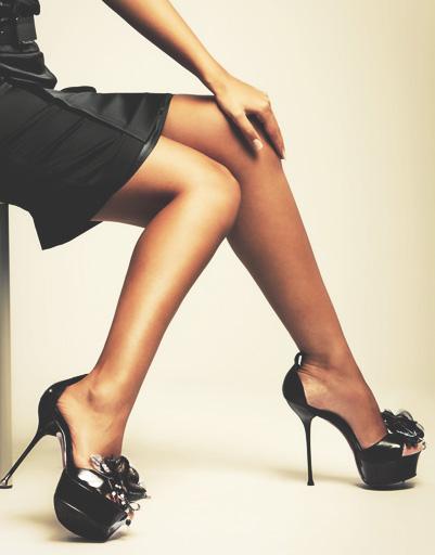 туфли на высоком каблуке фото 9