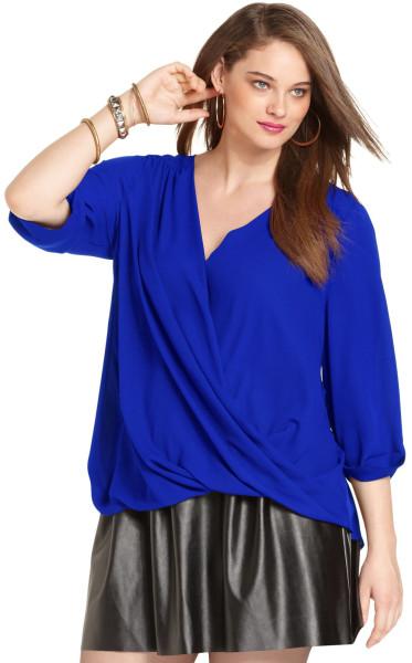 блузки для полных женщин 3