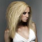 прическа гофре на длинные волосы фото 1