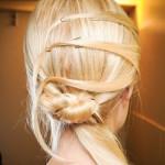 cвадебные прически на средние волосы фото 15