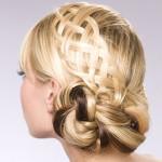 cвадебные прически на средние волосы фото 5