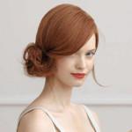 cвадебные прически на средние волосы фото 8