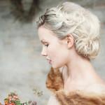 cвадебные прически на средние волосы фото 11