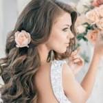 свадебные прически на длинные волосы 2015-2016 фото 1