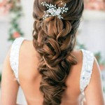 свадебные прически на длинные волосы 2015-2016 фото 4
