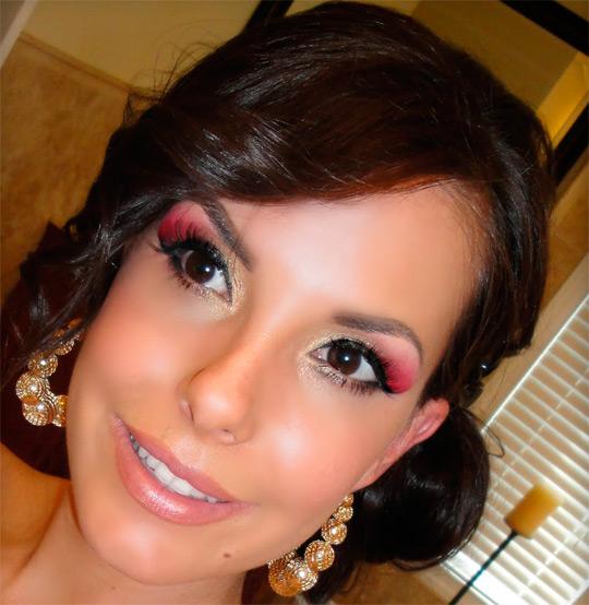 вечерний макияж для карих глаз фото 7