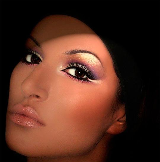 вечерний макияж для карих глаз фото 9