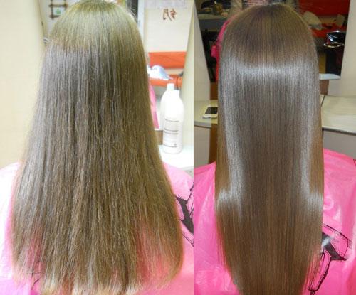 кератиновое выпрямление волос Cocochoco