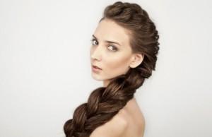 выбор плетение косичек на длинные волосы, исходя из типа лица
