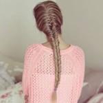 коса рыбий хвост фото 14