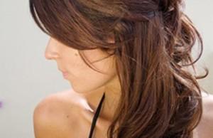 прическа Бабетта на длинные волосы