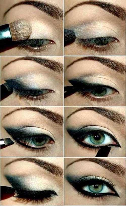 советы как правильно красить зеленые глаза фото