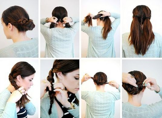 Прическа своими руками короткие волосы на каждый день