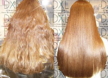 технология глазирования волос