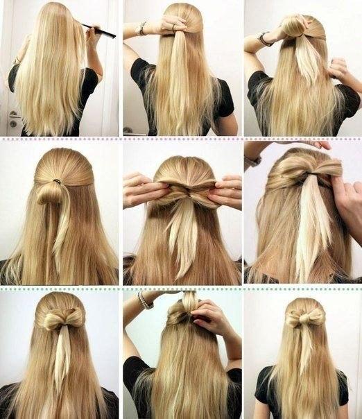 Причёски С Инструкцией На Каждый День - фото 5