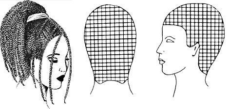 схема плетения африканских косичек фото
