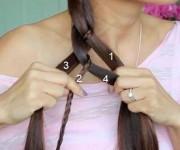 плетение и косы на длинные волосы 1