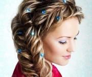 плетение и косы на длинные волосы 6