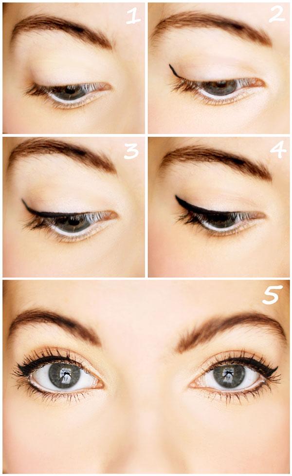 стрелки для круглых глаз