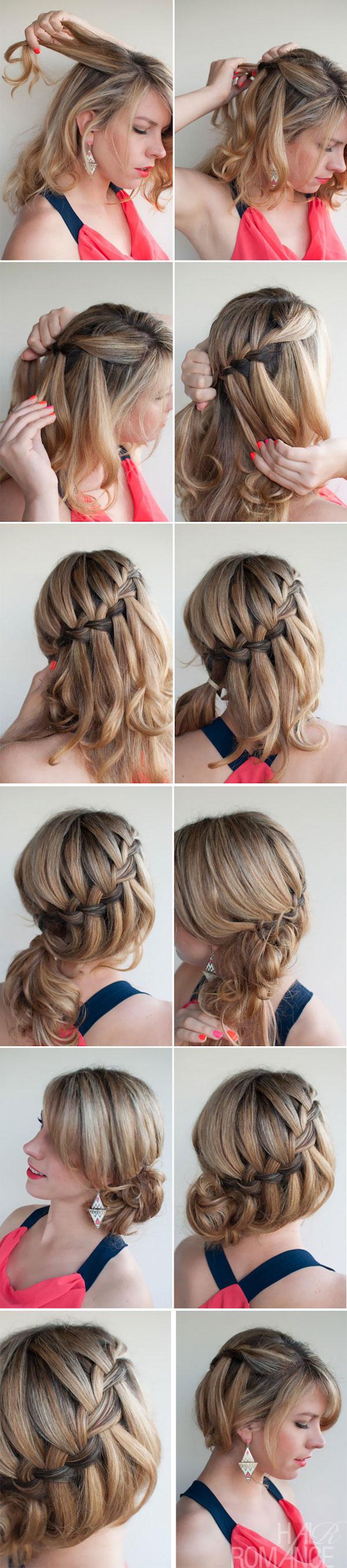 прическа для коротких волос фото