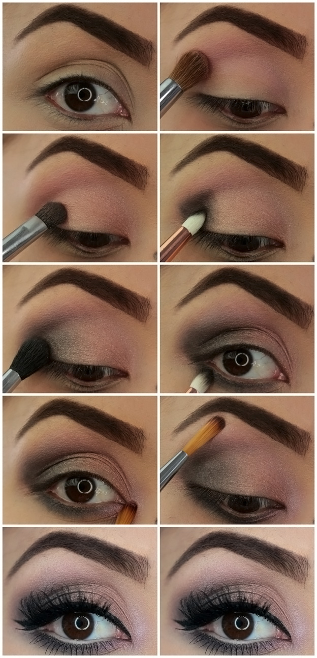 smoky eyes пошагово