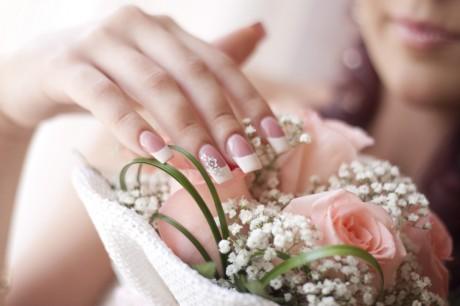 фото свадебного маникюра 8